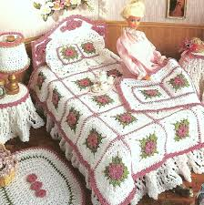 Home Decoration Pdf by Vintage Crochet Pattern Pdf Fashion Doll Home Decor Barbie Sindy