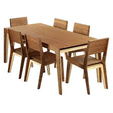 dining room table chic bamboo dining table design ideas bamboo 5