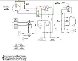 wiring diagram for key start 12 volt alternator conversion tearing