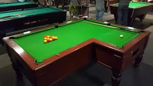 how big is a full size pool table we have 10 full size snooker tables to choose from picture of