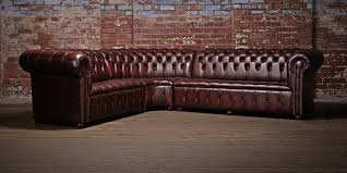 Chesterfield Sofas Uk by Grey Leather Corner Chesterfield Sofa Memsaheb Net