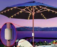 Patio Umbrellas With Led Lights Bookofjoe Cordless Patio Umbrella Led Lights