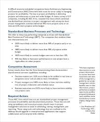 project analysis report template project management report templates 7 free pdf format