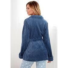 peignoir de chambre robe de chambre polaire ceinture poches femme exclusivité 3suisses