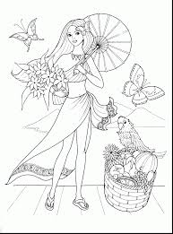 good black and white coloring page clothes with fashion coloring