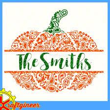 free pumpkin svg paisley pumpkin svg swirly pumpkin split pumpkin monogram pumpkin