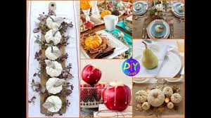 Fall Table Centerpieces by 50 Diy Thanksgiving Tablescapes U0026 Centerpieces Ideas Fall Table