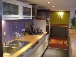 cuisine blanche mur aubergine mur cuisine aubergine peinture syntilor violet