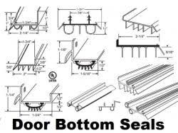 Exterior Door Bottom Seal Entry Door Bottom Sweep Seal Repair And Replacement Parts For