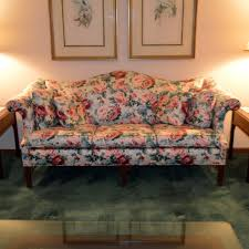 floral sofa upholstered floral sofa by pennsylvania house ebth
