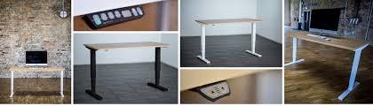 Hon Adjustable Height Desk by Vertex
