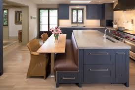 Kitchens With Banquette Seating Modern Kitchen Design With Incredible Built In Banquette Seating