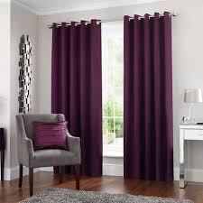 Plum Blackout Curtains 5a Fifth Avenue Venice Plum Blackout Eyelet Curtains Dunelm