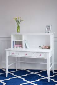 White Desk And Hutch by Desk White Craft Bedroom Furniture