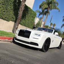 rolls royce gold and white rdb la five star tires full auto center complete collision