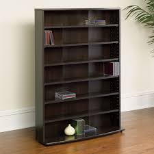 Princess Bookcase Media Storage 7 Shelf Bookcase
