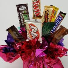 candy bar bouquet candy bouquets burwell floral bridal loft