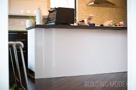 kitchen island panels glossy cabinet side panels for the kitchen