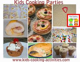 party ideas for kids kids cooking party ideas tips and menu for a on cooking