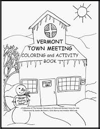 secretary of state kids page town meeting