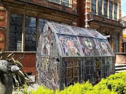 Greenhouse Windows by This Greenhouse Is Made From Old Stained Glass Windows Album On