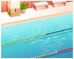 indoor swimming pool u2014 stock vector zzve 13416483