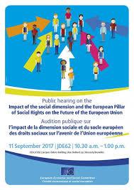 bureau union bruxelles impact of the social dimension and the european pillar of social