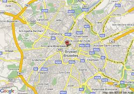 map brussels map of marriott brussels brussels