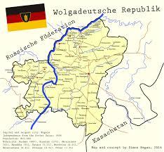 Alternate History Maps German Volga Republic An Alternate History Map By Sregan On
