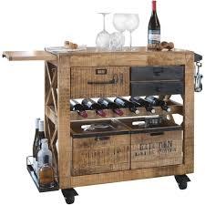 servierwagen küche servierwagen in eichefarben kaufen mömax