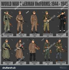 halloween background ww2 world war 2 german soldiers uniforms stock vector 258551396