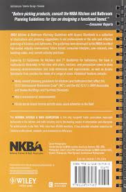 nkba kitchen and bathroom planning guidelines with access