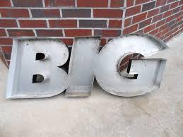 Home Decor Channel Large Reclaimed Black Channel Letter