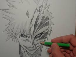 how to draw kurosaki ichigo from bleach youtube