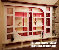 Charming Wall Showcase Designs For Living Room  In Home Design - Showcase designs for small living room