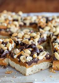 Oatmeal Bars With Chocolate Topping Fully Loaded Bars