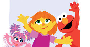 sesame street character autism kids