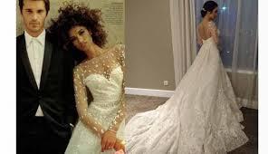 wedding dress raisa raisa dan artis bak putri negeri dongeng dengan gaun elie saab