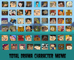 Meme Characters List - total drama character meme by amanecer dawn on deviantart