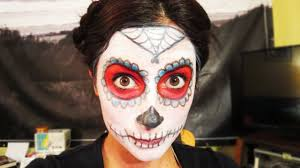 Cool Halloween Makeup Ideas For Men by Day Of The Dead Makeup Youtube