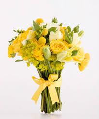 Billy Balls Yellow And Green Wedding Flowers Real Simple
