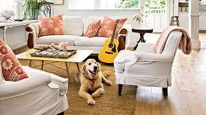 Slipcover Furniture Living Room 40 Beautiful Beachy Living Rooms Coastal Living
