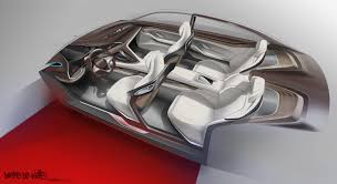 bmw future luxury concept bmw vision future luxury on behance