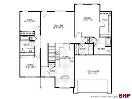 small ranch house floor plans 2 story 4 bedroom floor plan with 2craftsman house plans detached