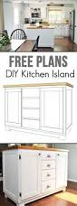 Kitchen Cabinet Making Plans Best 25 Build Kitchen Island Ideas On Pinterest Build Kitchen