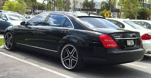 rick ross bentley wraith black mercedes s550 with custom rims exotic cars on the streets