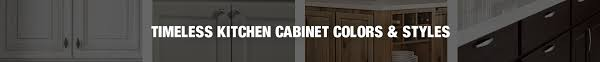 Color Of Kitchen Cabinet Kitchen Cabinets Color Gallery At The Home Depot