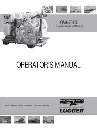 om673l3 operator u0027s manual fuel injection battery electricity
