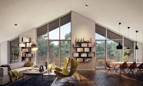 furniture gray and blue color scheme eco friendly home decor