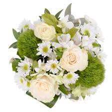 White Roses In A Vase Classic Low Vase Arrangement Roses Only Featured Products